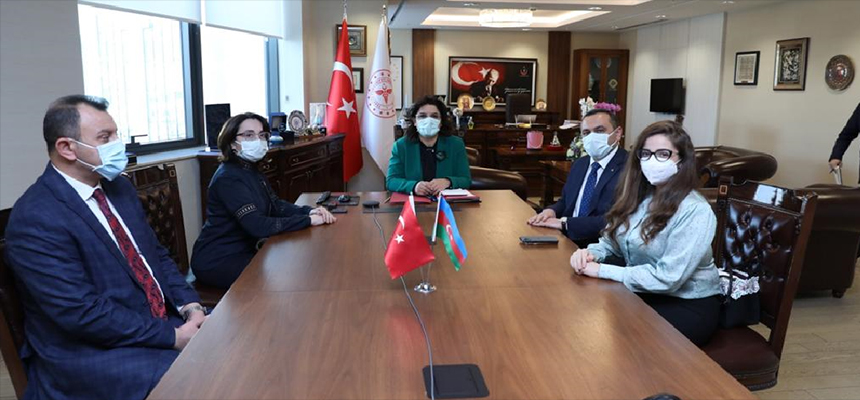 Deputy Minister Meşe's Meeting with Dr Ramin Bayramlı, Director of TABIB of Azerbaijan
