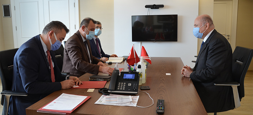 Visit of the Ambassador of Albania to Ankara to the General Directorate